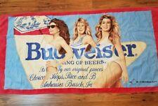 New listing Vintage 1998 Budweiser Beach Towel