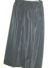 black satin underskirt slip custom made10 12 14 16 18 20 22 24 26 28 30 32 34 36