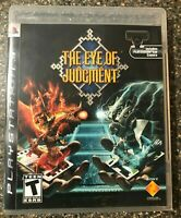 The Eye Of Judgment - Sony Playstation 3 PS3 - Complete w/ Manual Tested Working