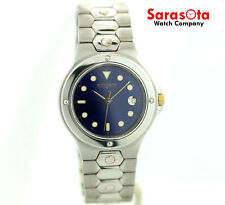 Wittnauer JV8242 Blue Dial Stainless Steel Quartz Men's Watch