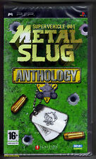 PSP metal slug anthology (2007) francese/olandese boxtext, nuovo & SONY sigillato in fabbrica
