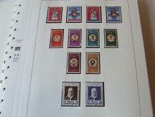 Vatican City 1959-82 neuf sans charnière/Fu Collection on Safe illustré album timbres feuilles