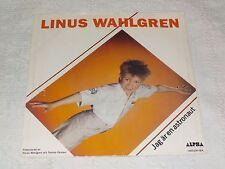 "LINUS WAHLGREN JAG ÄR EN ASTRONAUT SWEDISH VERS OF RICKY WILDE I AM AN ..  PS7"""
