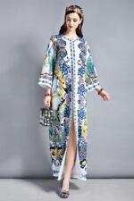 Langarm Damenkleider im Kaftan-Stil