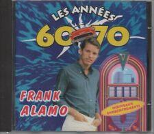 CD. FRANK ALAMO.  LES ANNEES 60 - 70    - 15 Titres -  Nouveaux Enregistrements