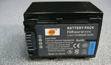 Sony NP-FV70 Type Li-Ion Battery, 2600mAH, Higher Capacity than Sony, for Exmor