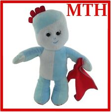 "Night Garden hablando musical In The 12"" IGGLE PIGGLE suave juguete de felpa con Manta"