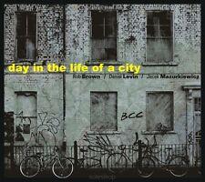 "Rob Brown / Daniel Levin / Jacek Mazurkiewicz ""day in the life of a city"" NEW CD"