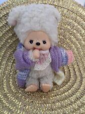 Monchichi Monchhichi Schaf Katze ? Sekiguchi 18 cm