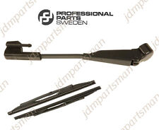 Left Headlight Wiper Arm 9151656 & Wiper Blade 274435 PPS 98-04 Volvo S40 V40