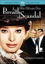 A BREATH OF SCANDAL SOPHIA LOREN MICHAEL CURTIZ WIDCSCREEN NEW SEALED DVD OOP