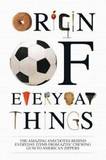 Very Good, The Origin of Everyday Things, Acton, Johnny, Book