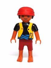 Playmobil Figure Pirate Ship Ethnic Hispanic Boy Child w/ Headwrap 4139