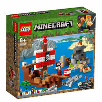21152 LEGO Minecraft The Pirate Ship Adventure 386 Pieces Age 8+ New for 2019!