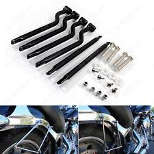 Universal Motorcycle Stainless Steel Refit Saddlebag Side Support Bar Bracket