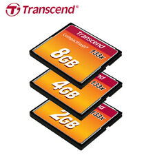 Transcend 2GB 4GB 8GB 133X UDMA4 Compact Flash CF Card Speed up to 50MB/s
