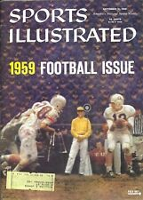 09-21-1959 Sports Illustrated 1959 Football Issue