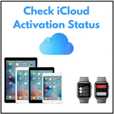 CHECK ICLOUD ACTIVATION STATUS BY SERIAL NUMBER: IPAD, APPLE WATCH, IPOD TOUCH