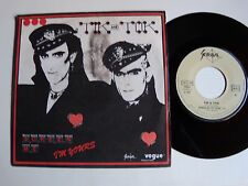 """TIK and TOK : Screen me I'm yours  / Dangerous 7"""" 45T 1984 synthpop VOGUE 101893"""