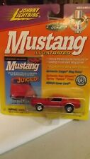 """Johnny Lightning Mustang Illustrated 1968 Shelby GT-350 """"Juiced"""" 1/64 Scale"""