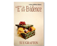 E is for Evidence A Kinsey Millhone Mystery Hardcover book Sue Grafton FREE SHIP