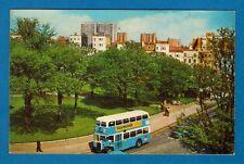 Bus Postcard ~ Old Steine Square: '60s Brighton Corp Leyland Titan: Colourmaster