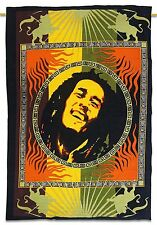 Indian Cotton Tapestry Bob Marley Home Table Cloth Poster Wall Hanging Yoga Mat