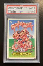 1987 Garbage Pail Kids OS9 Bazooka Joanne 353a PSA 10 GEM MINT-RARE POP 5!! TWT