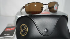 RAY BAN New Sunglasses Brown Havana Brown Polarized RB3478 014/57 60 130