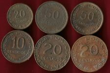 Mozambique lot of 6 coins