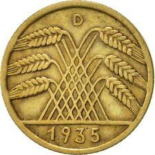 [#422868] Allemagne, République de Weimar, 10 Reichspfennig, 1935, Munich, TTB