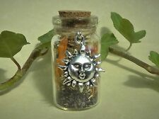 Witch Bottle spell Kit to Lift Depression Magical Herb Spell Talisman