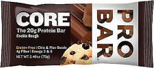 4x PROBAR Base Protein Bar Cookie Dough Gluten Chia & Flax Seed Healthy
