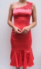 Vestidos de mujer rosa de seda, Talla 38