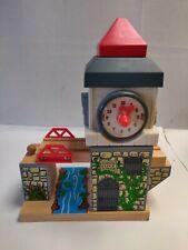 Thomas & Friends Wooden Railway Train Sodor Clock Tower 2003 Learning Curve RARE