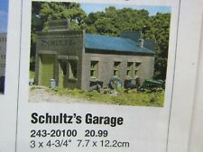 DPM~ #201~SCHULTZ'S GARAGE-SERIES 2~BUILDING KIT-LOT B~ HO SCALE