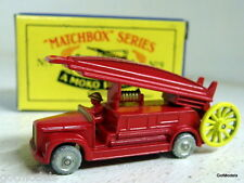 Matchbox Moko Lesley Reproduction small scale No.9 1948 Dennis F2 Fire Engine