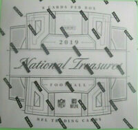 2019 Panini National Treasures Football Hobby Box Break #3 (Random Team)