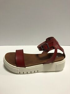 MIA, Womens Lunna Sandal Red US9 M