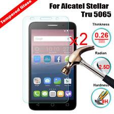 2Pcs PREMIUM GENUINE VETRO TEMPERATO PROTEGGI SCHERMO per vari telefono Alcatel