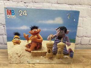 Vintage Jim Henson's Sesame Street Muppets 24 Piece Puzzle