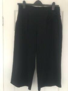 Ladies George Black Cullottes Size 14