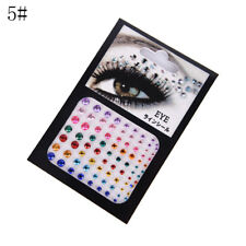 Jewel Eyes Makeup Crystal Eyes Sticker Tattoo Diamond Glitter Makeup Sticker M2