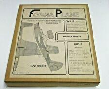 Forma Plane 1/72nd Scale Beriev MBR-2 Vacu Form Kit No. 18