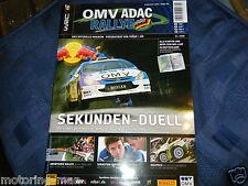 2006 OMV ADAC Rally Deutschland programa Sebastien Loeb Citroen Xsara WRC Sordo