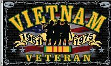 Vietnam War Veteran Indoor/Outdoor 3 X 5 FT. Flag Freedom Fighter