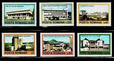 RUMANIA ARTE . ARQUITECTURA 1979 3175/80 6v.