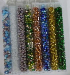 Miyuki E Beads 5/0 Round Rocailles Seed Bead Glass 5mm 18-19 Grams U-Pick