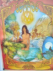 2-Lot! '70+'71 RARE LSD/BEL Sound Spectrum+ P.S. I Love U Bill Ogden Posters!