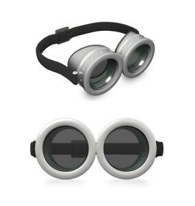 Minion Brille für Kinder und Damen Silber Goggles Ich unverbesserlich Accessoire